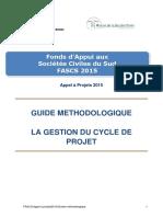 2. Guide Methologie Gestion de Projet Fascs 2015