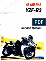 Yamaha 2015-2016 YZF-R3 Service Manual