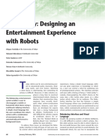 02_2016_designing an Entertaining Experience With Robots