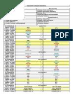 Intramurals Schedule 2017