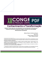 Completo Historia e Cultura Africana e Afro-Brasileira Curso de Educacao Continuada Para Professores de Ensino Fundamental e Medio e Extensao Nas Comunidades