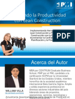 03- Mejorando La Productividad Con Lean Construction - William Villa