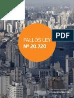 Fallos Ley N20720