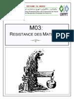 Module 03 - Resistance Des Materiaux