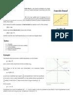 Función Lineal - Wikipedia, La Enciclopedia Libre