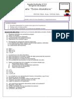 Evaluacion 8 Basico Textos Dramaticos