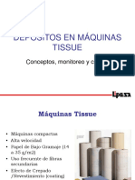 Depositos en Máquinas Tissue