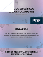 Riesgos Específicos Sector Soldaduras