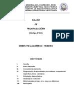 Silabo Programación I-2017-II Por Competencias