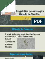 Diagnóstico parasitológico SHEATHER