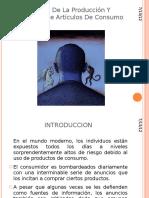 La Etica de La Produccion Y Marketing Jch