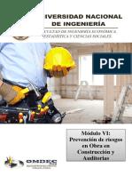 MANUAL de LECTURA Modulo VI Prevencion de Riesgos en Construccion