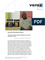 Deixar de Ensinar a Cultura Afrobrasileira Na Escola é Não Aplicar a LDB