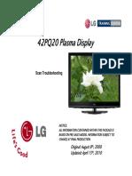 Lg 42pq20 Training Manual