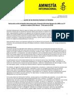 DH-Amnistia en Colombia 2016
