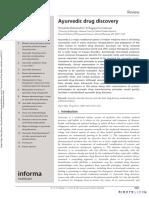 Ayurvedic drug discovery.pdf