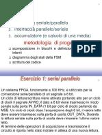 Esercizio 1 - Seriale Parallelo