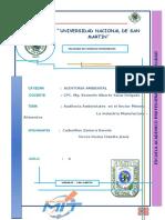 G13 Auditoria Ambiental en El Sector Minero y Mmanufactura