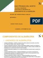 Componentes de Albañileria Trabajo