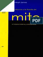 Christoph Jamme - Introducción a la filosofía del mito en la época moderna y contemporánea.pdf