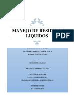 Manejo de Residuos Liquidos