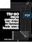 Trs-80 Micro Computer Technical Reference Handbook 2nd 1982 Radio Shack