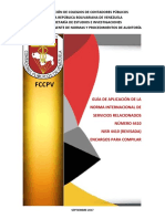 Gda Nisr 4410 (Revisada) Cpnpa Trad 2013 a Septiembre 2017