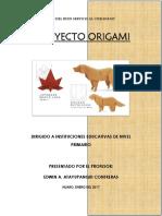 Proyecto Origami