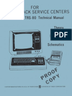TRS-80 Technical Manual 1978 Radio Shack