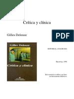 Lo que dicen los niños (Crítica y clínica, Gilles Deleuze)