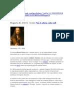 Boigrafia Alberto Durero