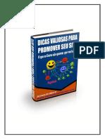 Dicas Valiosas Para Promover Seu Site