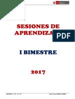 6. Formato Para Planificación de Sesión de Aprendizaje