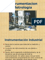 Instrumentacion y Metrologia