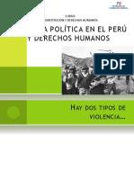 Violencia Politica en El Peru y Ddhh