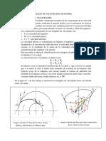 Diagramas Vectoriales de Velocidade de Bombas