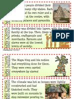 Maya Fact Cards