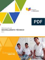 Oferta Formativa de Bachillerato Tecnico