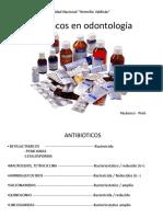 Farmacos en Odontología