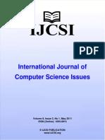 Ijcsi Vol 8 Issue 3 No 1