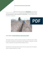 Prueba Hidráulica en Sistemas de Redes de Agua