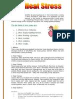 Heat Stress Fact Sheet