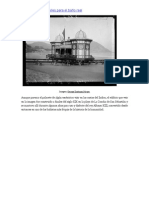 La caseta de playa sobre railes de Alfonso XIII. Playa de la Concha.