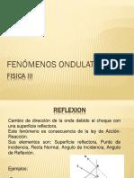 FENOMENOS ONDULARES