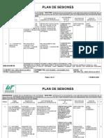 Plan de Sesiones CDS