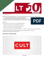 Entrevista - Roberto Piva - Revista Cult