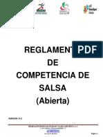 Reglamento de Competencia de Salsa