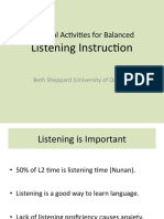 Ractical Activities for Balanced Listening Webinar Slides