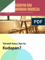 ppt kudapan dan minuman indonesia