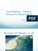 Food Matters1.Healthy Choices